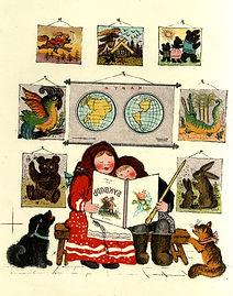 Yuri Vasnetsov illustrations Love books.