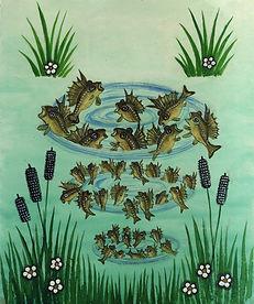 Yuri Vasnetsov illustrations Fish Ershi