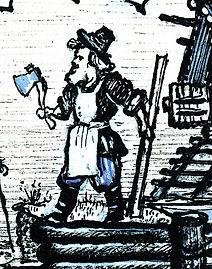 Yuri Vasnetsov illustrations Blacksmith