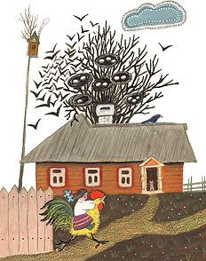 Yuri Vasnetsov illustrations Parents' ho