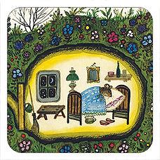 Mouse Bedroom, Yuri Vasnetsov, Russian tales