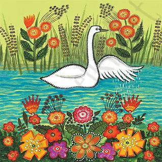 White Swan by Yuri Vasnetsov