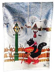 Christmas tea towel, Gift, Yuri Vasnetsov