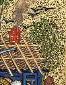 Yuri Vasnetsov illustrations trees rooks