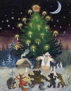 Yuri Vasnetsov illustrations Christmas t