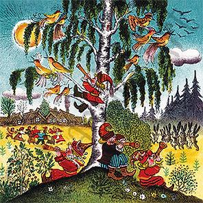 Folk Art. Yuri Vasnetsov
