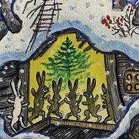 Yuri Vasnetsov illustrations Christmas c