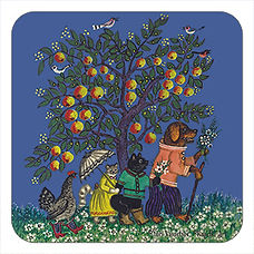Animals under Apple Tree, Yuri Vasnetsov gifts, Kapelki Art