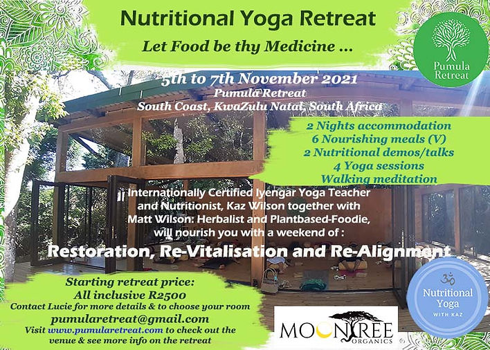 Pumula Nutritional Yoga Retreat