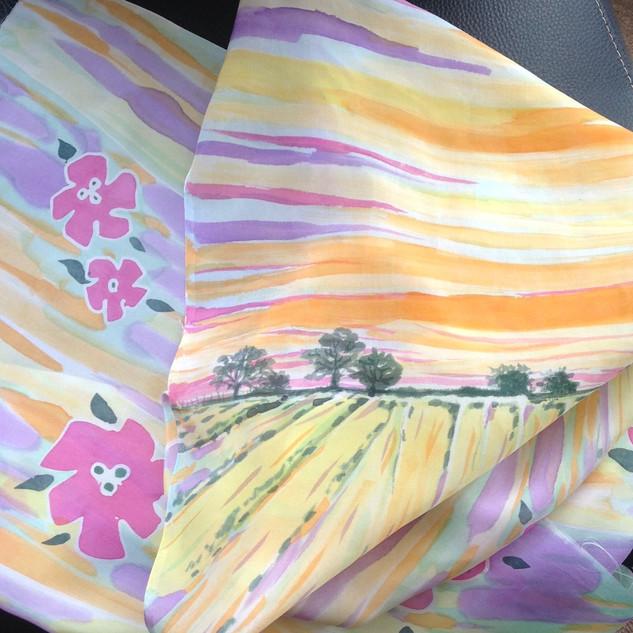 Silk Landscape (detail 2)