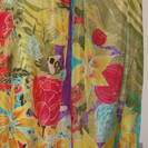 Busy Bees Silk Scarf.(detail 2)