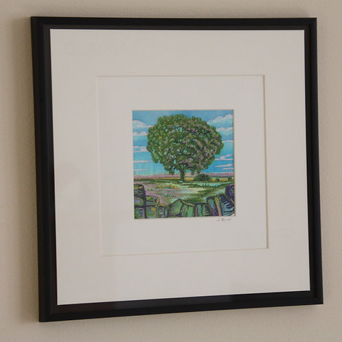 Digley Tree (Original Embroidery)