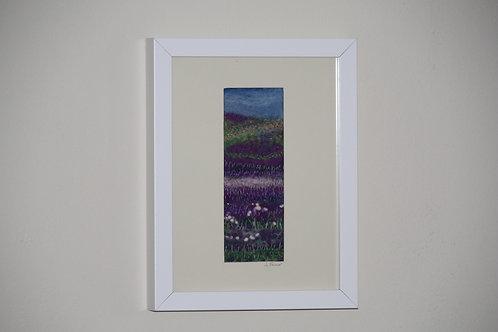 Yorkshire Heather (Original Felt & Embroidery)