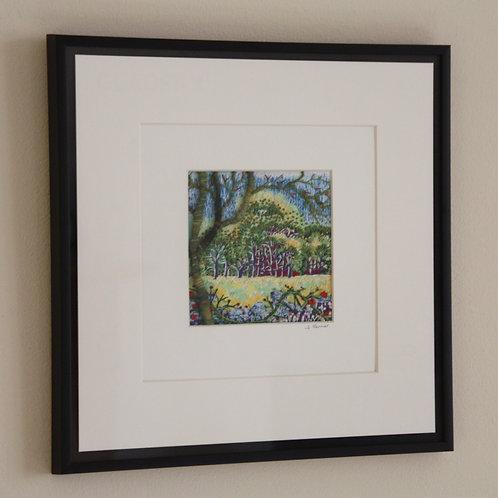 Bramble Hedge (Original Embroidery)