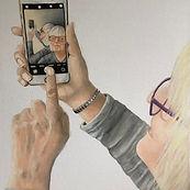 Selfie-Acrylic&Oil
