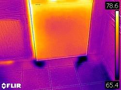 Dishwasher Leak Infrared
