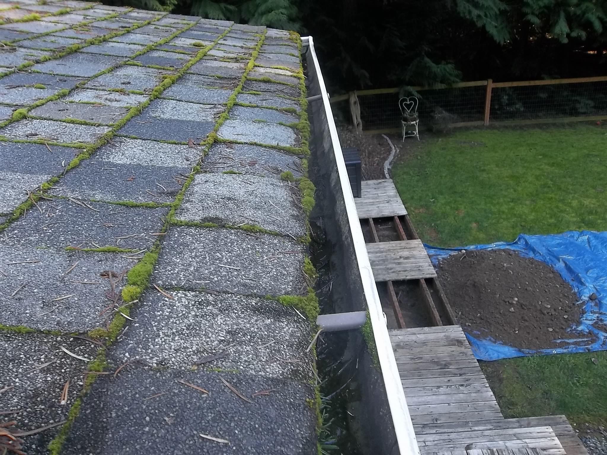 Roof gutters