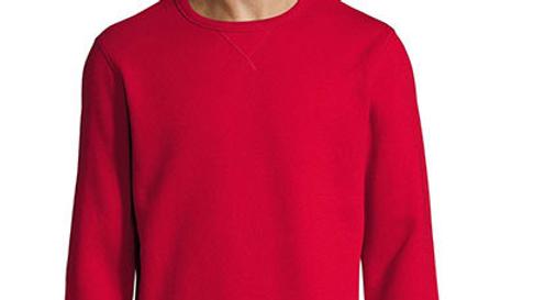 Geborduurde sweatshirt in gemeleerde kleuren