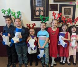 all the little reindeer