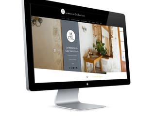 Mise en ligne du site internet de La Métairie du Clos Saint Louis !