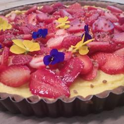 tarte fraise citron