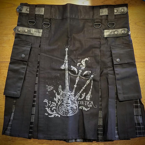 Men's Kilt with grey or red band logo