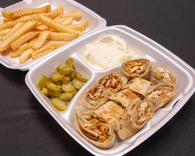 Arabi Chicken with fries