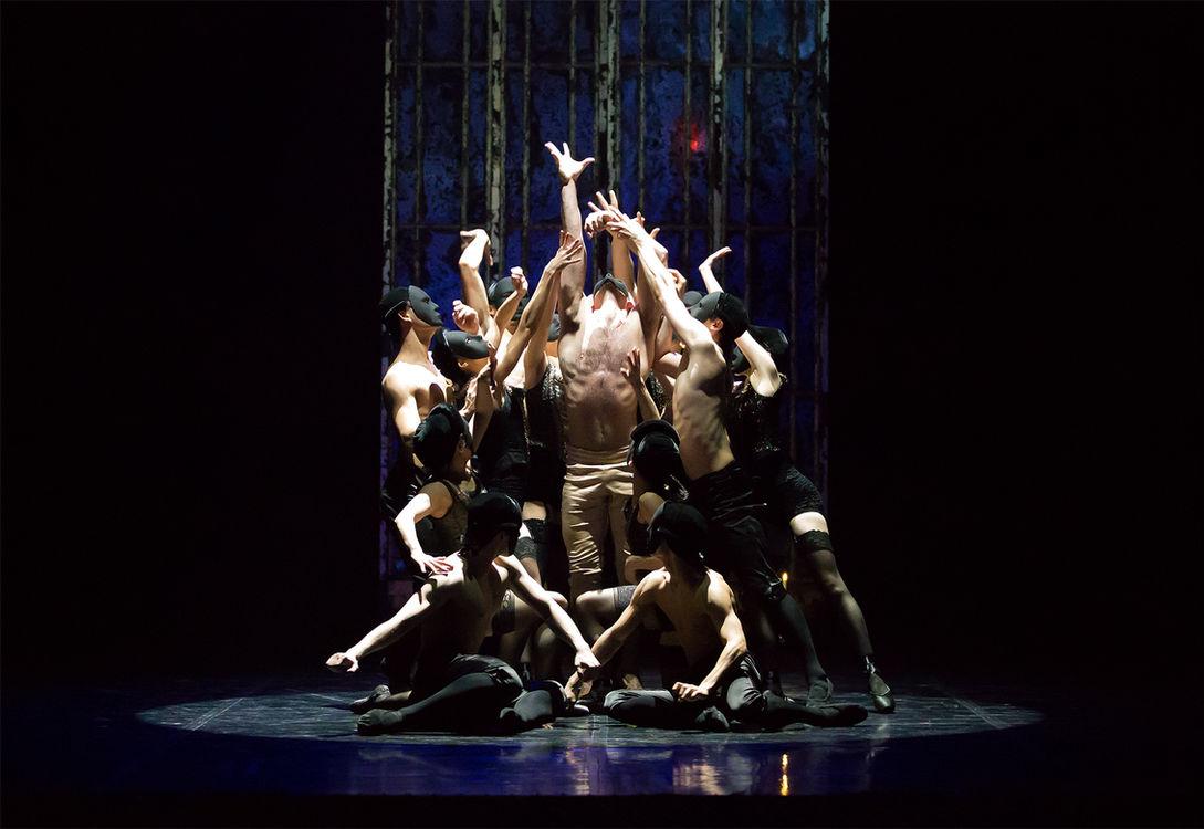 northern ballet dancers in casanova. pho