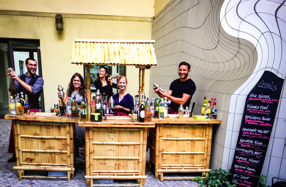 berlin cocktails team