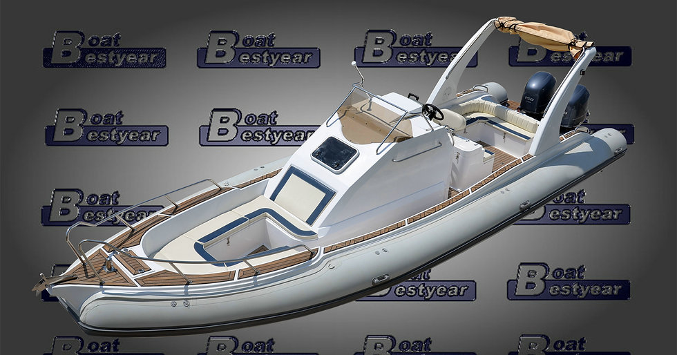 Rigid Inflatable Boat (RIB) 960 with Cabin