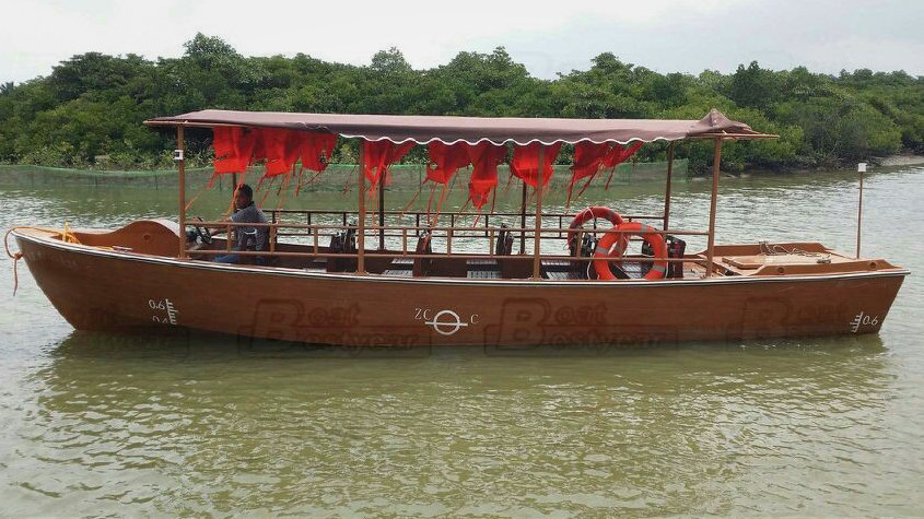 Electric Passenger Boat 880