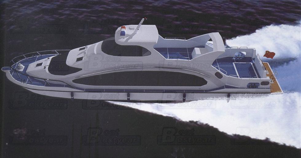 Passenger Boat 2700 for 150 Passengers