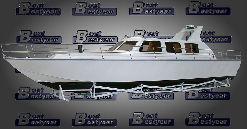 Multipurpose Aluminum Yacht 1600