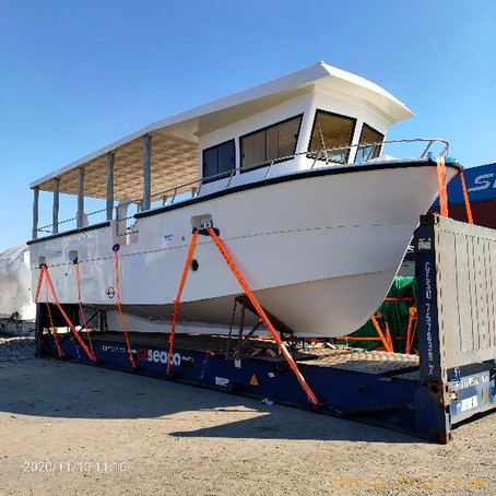 Just Built: 11.6m Commercial Fishing Trawler for the Pacific