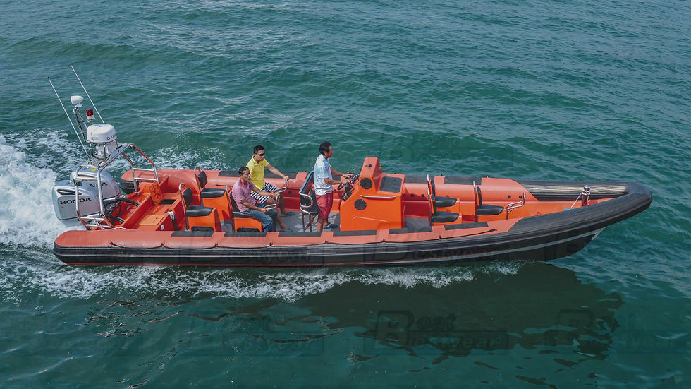 Military Rigid Inflatable Boat (RIB) 1100
