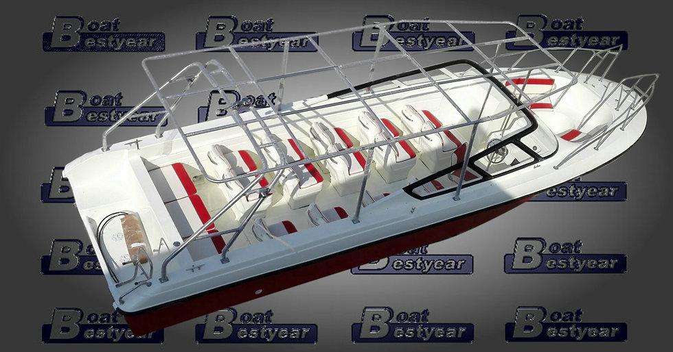 Passenger Bowrider Boat 880 for 30 Passengers