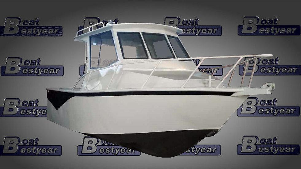 Aluminum Cuddy Fishing Boat 630