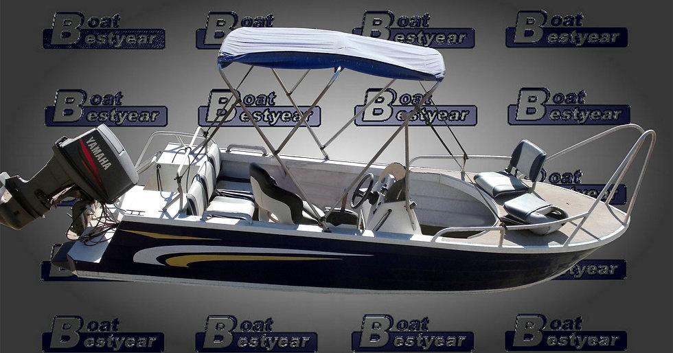 Aluminum Center Console Fishing Boat 500CC