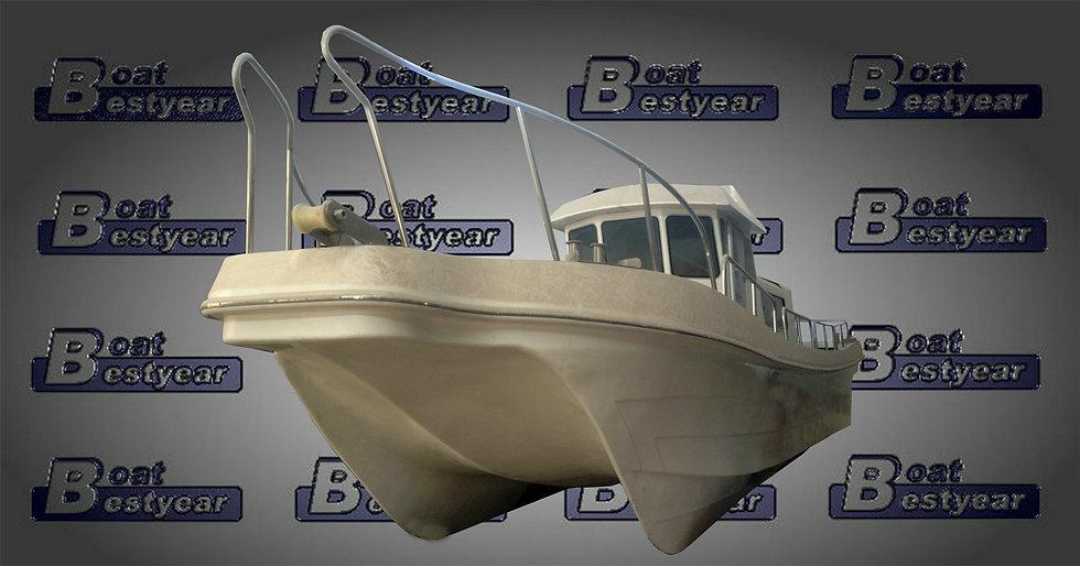 Catamaran Fishing Boat 1200