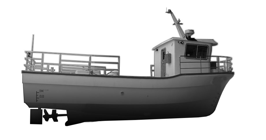Commercial Fishing Trawler 1160A