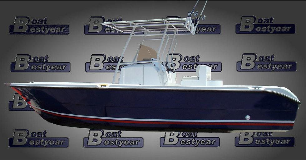Center Console Fishing Boat 720CC