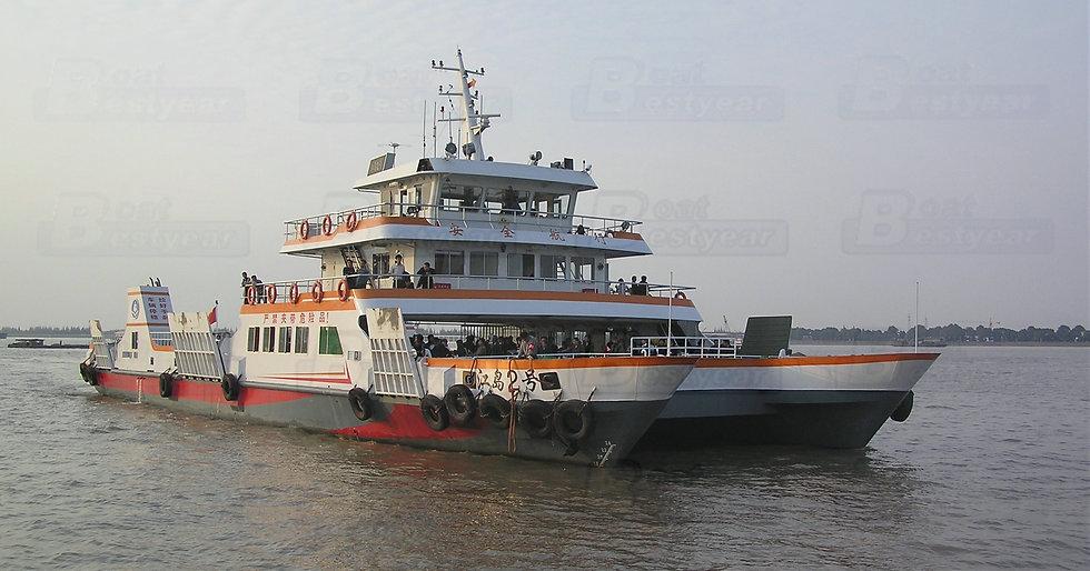 Catamaran RORO Ship 4600