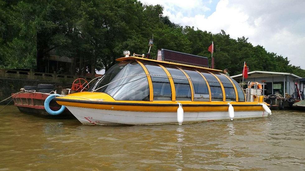 Panoramic Waterbus for 29-50 Passengers
