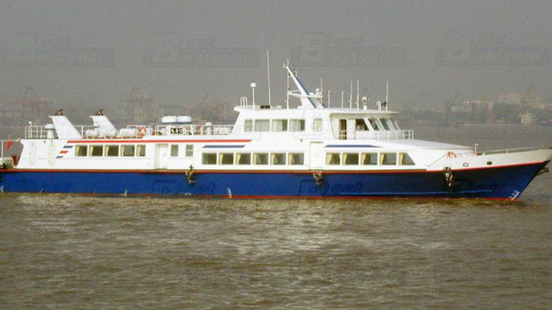 48m Catamaran Boat for 200-250 Passengers