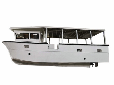 Bestyear Longline Commercial Fishing Trawler Tested on Water