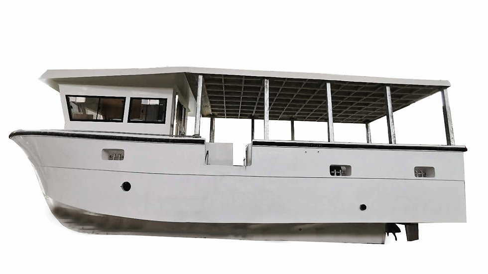 Commercial Fishing Trawler 1160B