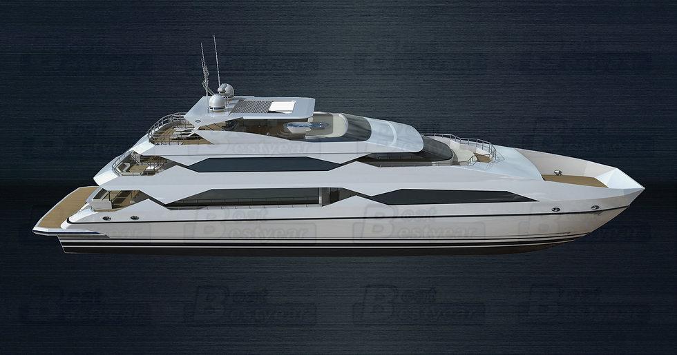 Catamaran Boat 4200 for 100-310 Passengers