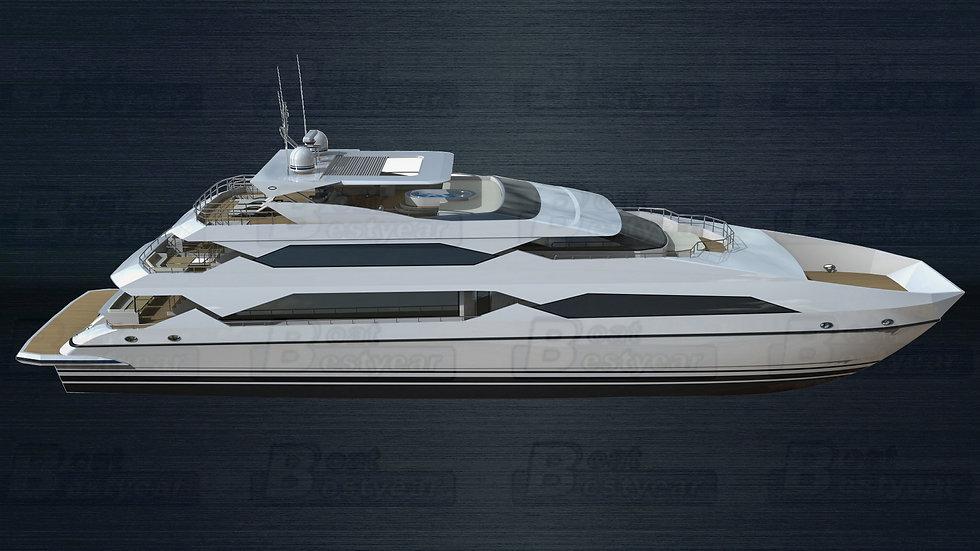 42m Catamaran Boat for 100-310 Passengers