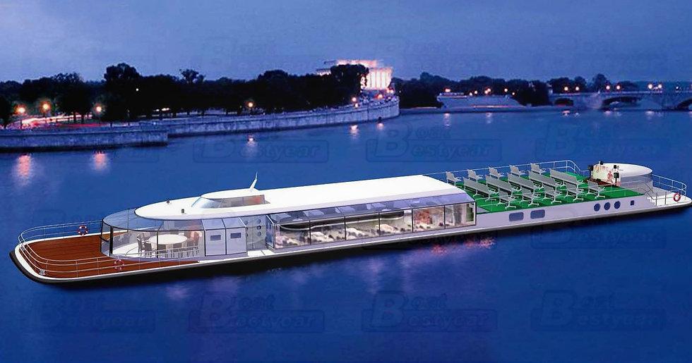 Restaurant Boat 2800-3500 for 100-200 Passengers
