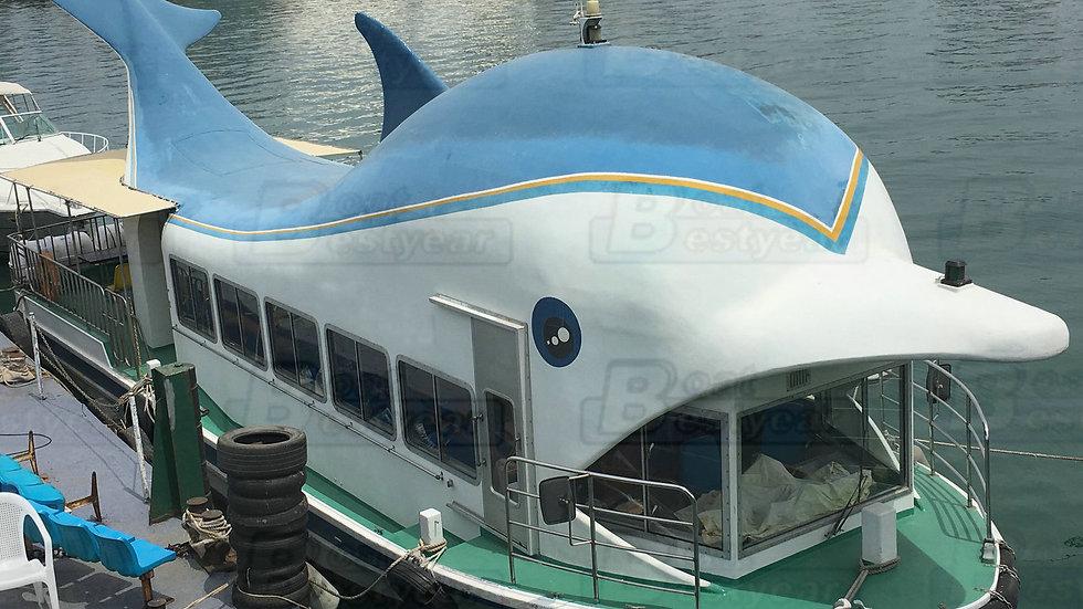Dolphin Tourist Passenger Boat